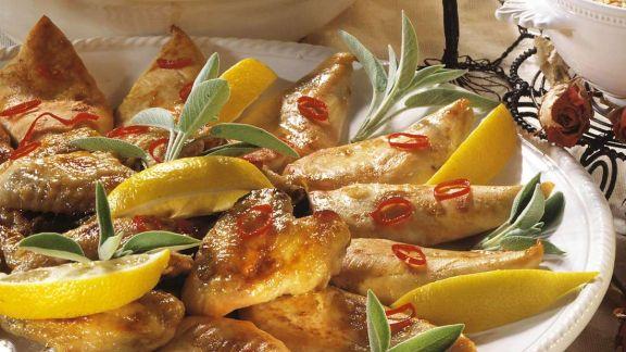 Rezept: Peperoni-Hühnchen