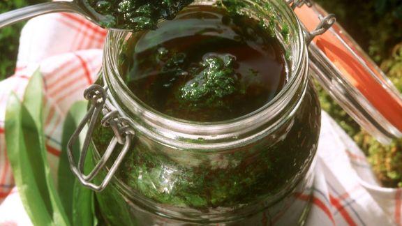 Rezept: Pesto aus Bärlauch