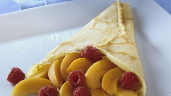 Rezept: Pfannkuchen mit Früchten