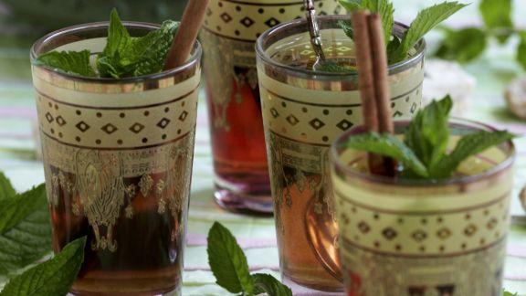 Rezept: Pfefferminztee auf marokkanische Art