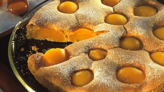 Rezept: Pfirsich-Biskuitkuchen