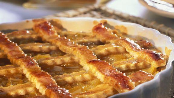 Rezept: Pfirsich-Crostata