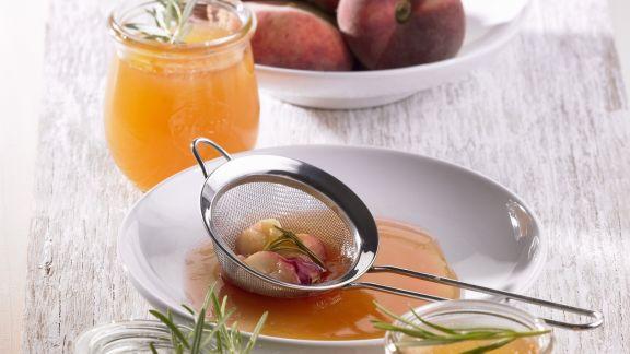 Rezept: Pfirsich-Rosmarin-Konfitüre