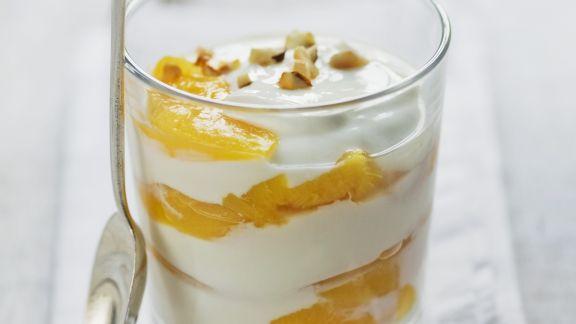 Rezept: Pfirsichjoghurt