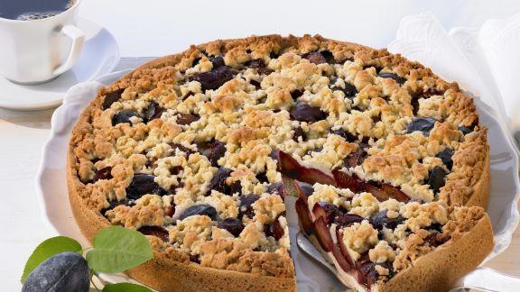 Rezept: Pflaumen-Streusel-Kuchen