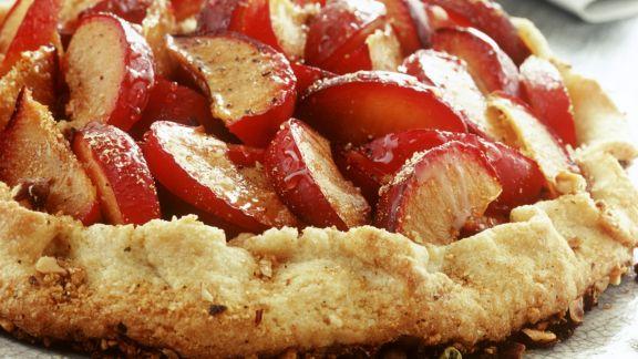 Rezept: Pflaumenkuchen mit Piment