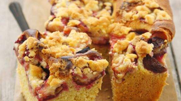 Rezept: Pflaumenkuchen mit Streuseln