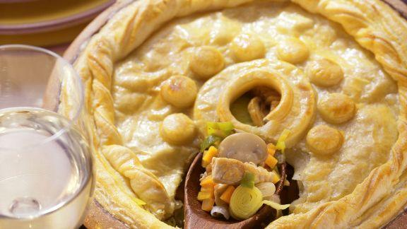 Rezept: Pie mit Geflügel