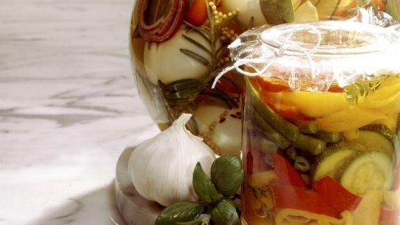 Rezept: Pikant mariniertes Gemüse