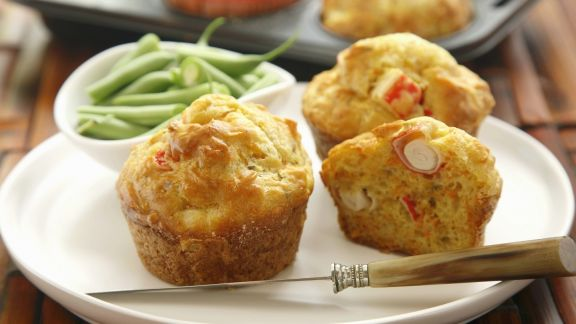 Rezept: Pikante Muffins mit Surimi