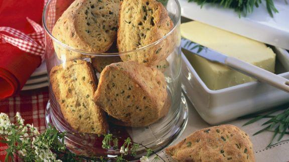 Rezept: Pikante Scones mit Käse und Kräutern