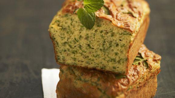 Rezept: Pikanter Kuchen mit Minze