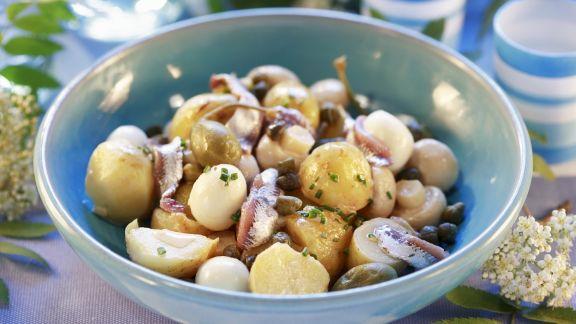 Rezept: Pilz-Kartoffelsalat