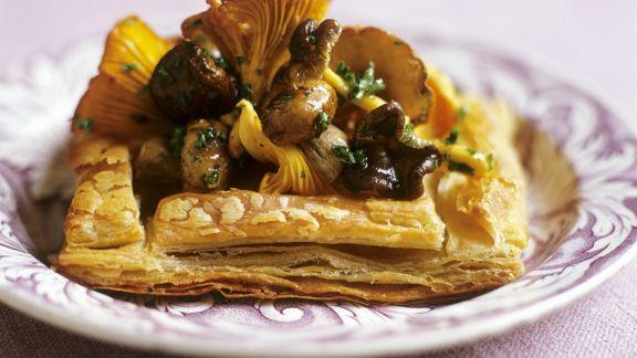 Rezept: Pilz-Tartelett