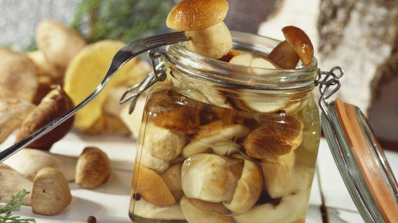 Rezept: Pilze in süßer Marinade