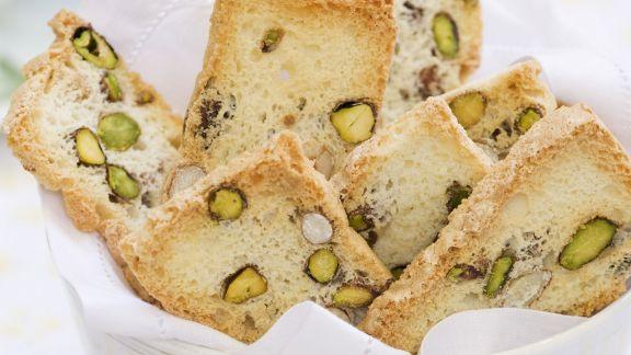Rezept: Pistazien-Biscotti