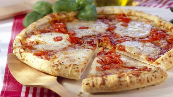 Rezept: Pizza Margarita