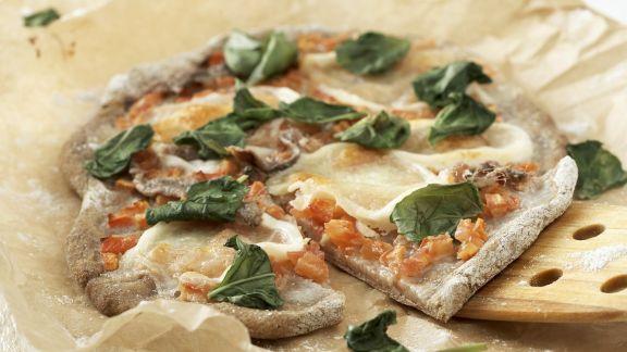 Rezept: Pizza mit Anchovis