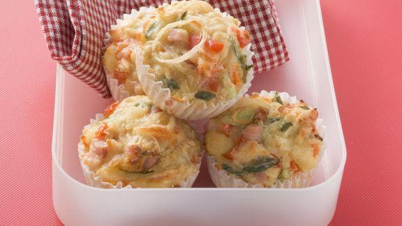 Rezept: Pizza Muffins