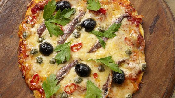 Rezept: Pizza Napoli