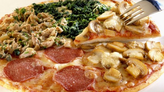 Rezept: Pizza quattro stagioni