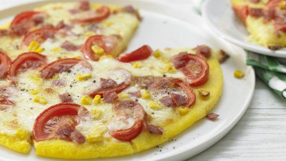 Rezept: Polenta-Pizza