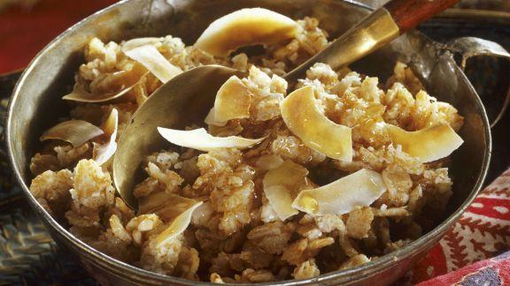 Rezept: Porridge auf indische Art