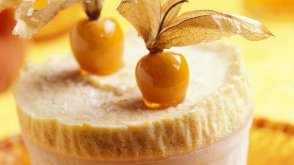 Rezept: Pudding mit Physalis