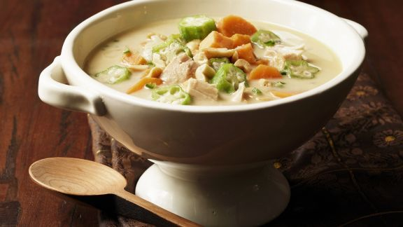 Rezept: Puten-Curry-Suppe auf afrikanische Art
