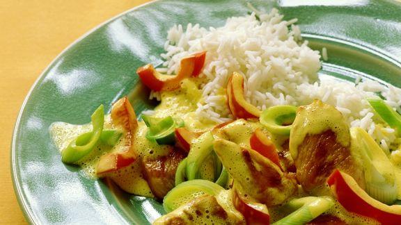 Rezept: Puten-Gemüsecurry
