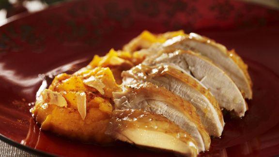 Rezept: Putenbrust mit Süßkartoffelbrei