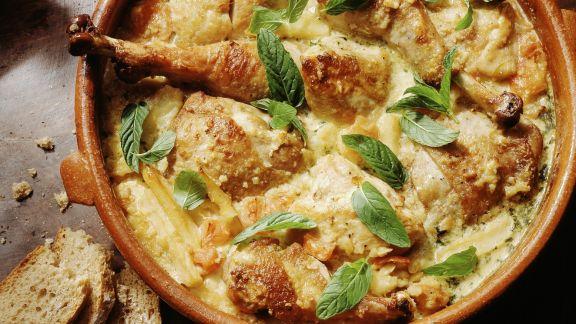 Rezept: Putenfleisch mit Mandeln