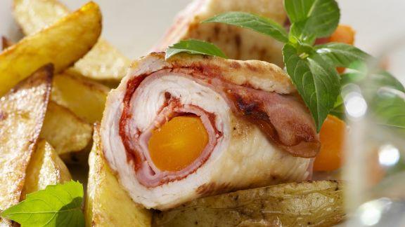 Rezept: Putenrouladen mit Country Potatoes