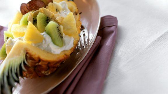 Rezept: Quark mit Früchten