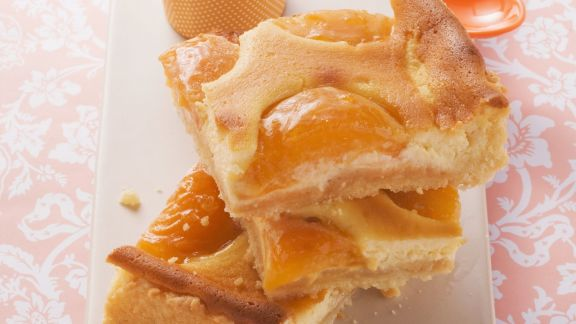 Rezept: Quarkkuchen mit Aprikosen