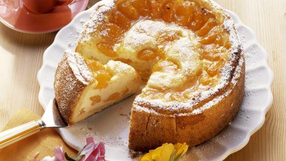 Rezept: Mandarinen-Quark-Torte