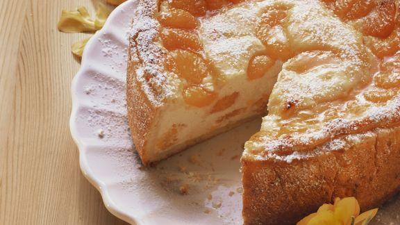 Rezept: Quarkkuchen mit Mandarinen