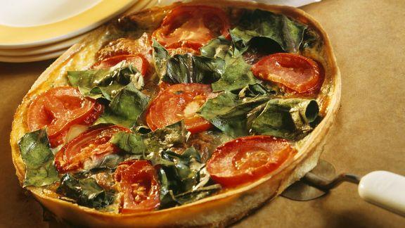 Rezept: Quiche mit Gemüse
