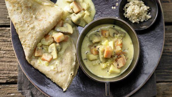 Rezept: Quinoa-Pfannkuchen