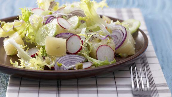 Rezept: Radieschen-Sprossen-Salat
