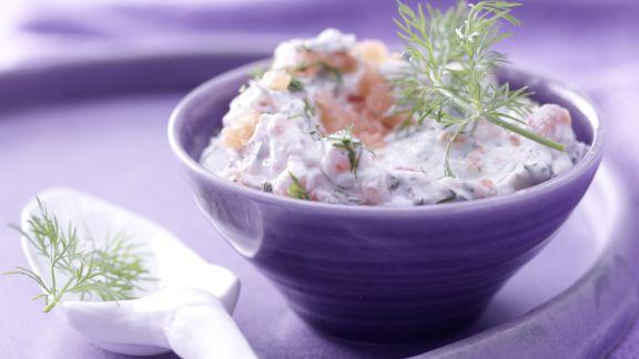 Rezept: Räucherlachs-Käse-Creme