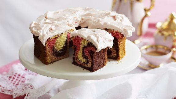 Rezept: Raffinierter Marmorkuchen