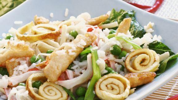 Rezept: Reis auf chinesische Art