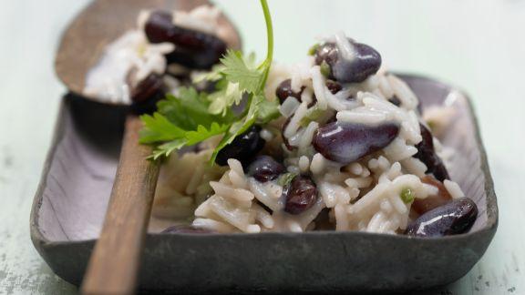 Rezept: Reis mit Bohnen