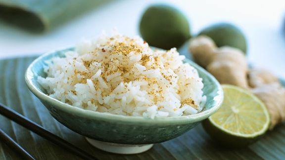 Rezept: Reis mit Ingwer
