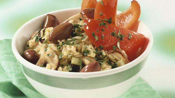 Rezept: Reis und Gemüse aus dem Wok