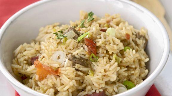 Rezept: Reispfanne auf kubanische Art