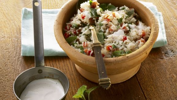 Rezept: Reissalat mit südafrikanische Art