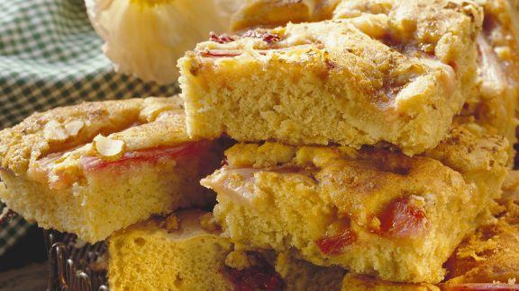 Rezept: Rhabarberkuchen mit Anis