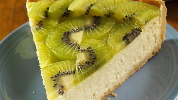 Rezept: Ricotta-Kiwi-Kuchen